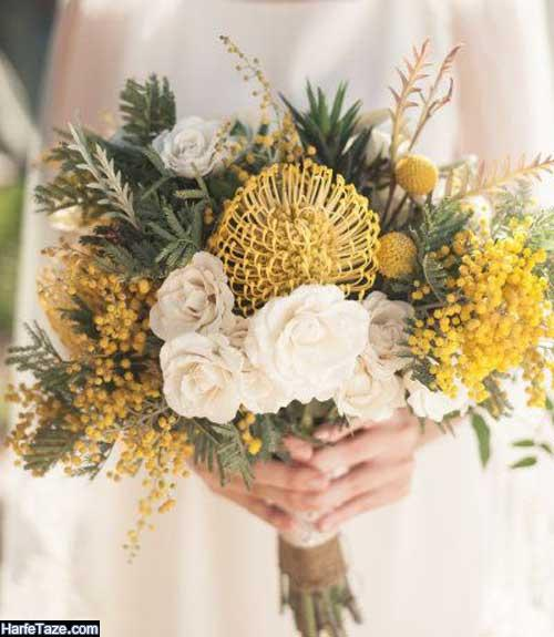 جدیدترین گلهای عقد برای عروسهای سخت پسند