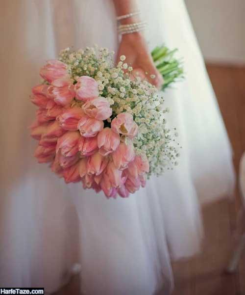 عکس تزیین گلهای نامزدی شیک جدید
