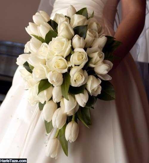 تزیین گلهای طبیعی برای عروسی با گل های جذاب