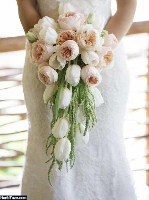 دسته گل عروس ایرانی جدید 99