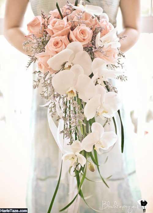 دیزاین گلها ویژه عروسی با رنگ های ملایم