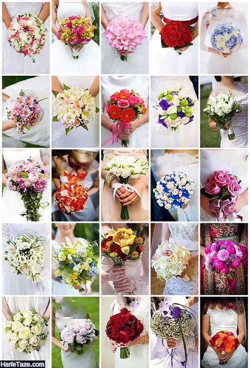 دسته گل عروس جدید و شیک ۲۰۲۰ صورتی