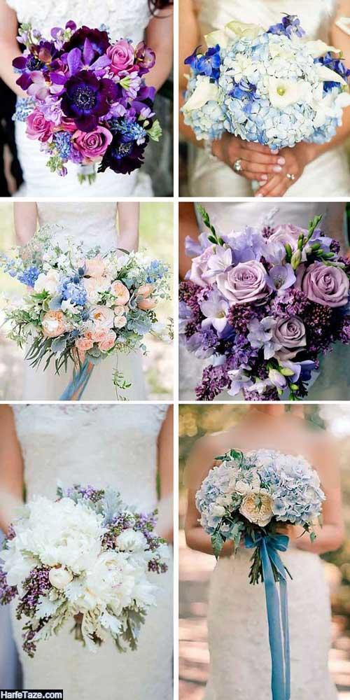 انوع طرح گلهای زیبا عروسی، اروپایی و شیک
