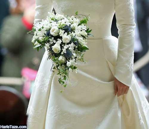 مدلهای جدید دسته گل عروس اروپایی
