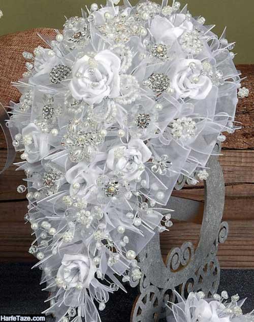 دسته گل عروس اروپایی جدید و شیک ۲۰۲۰