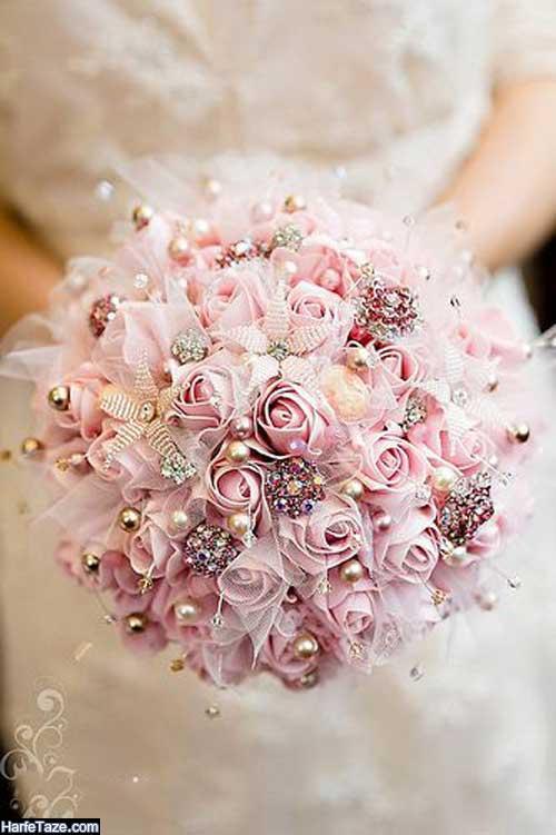 مدل دسته گل عروس بهاری 99
