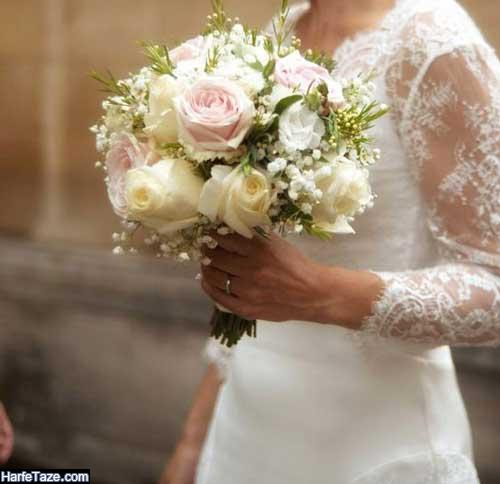 مدبهای گلهای عروسی اینستاگرام