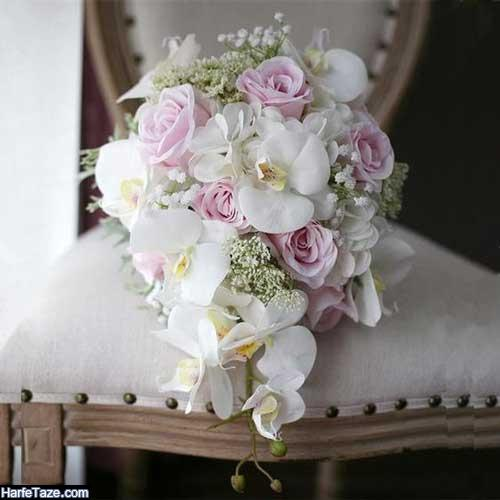 مدل دسته گل عروس 2020 با گلهای وحشی