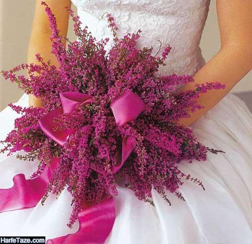شیک ترین مدل دسته گل عروس جدید برای نامزدی و عقد