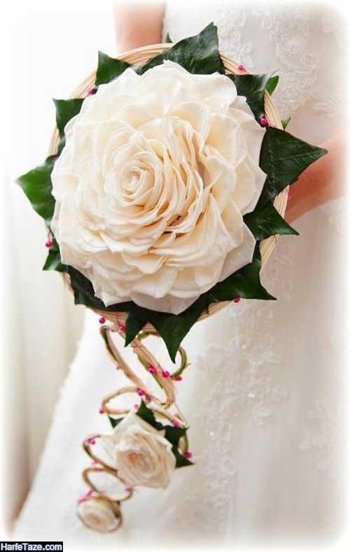 دسته گل خاص عروس