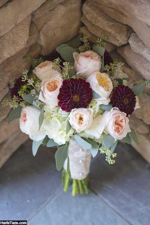 دسته گل خاص عروس جدید شیک 2021