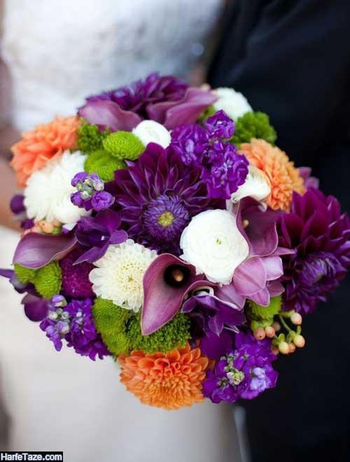 دسته گل عقد و عروسی تابستانه 2020