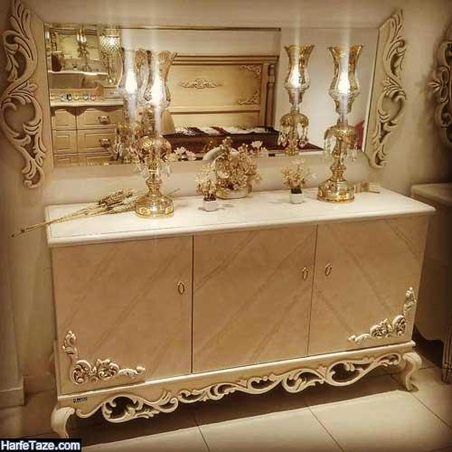 مدل های کلاسیک و مدرن آینه شمعدان