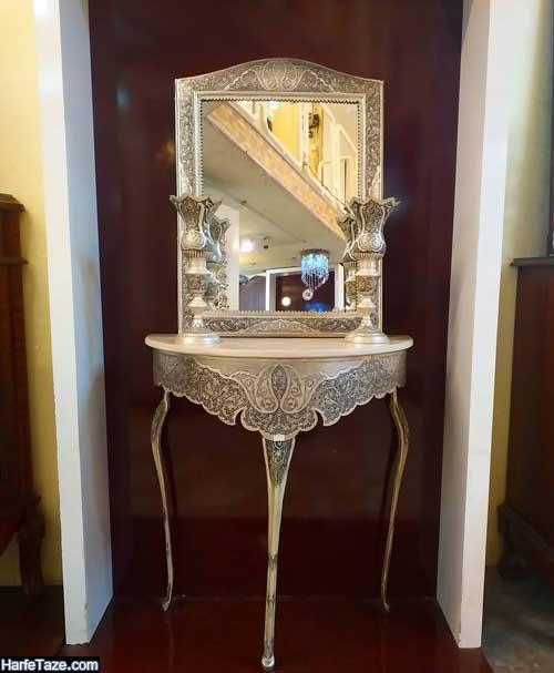 مدل جدید آینه شمعدان 2020 - 99