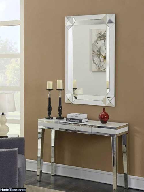 جدیدترین مدل آینه شمعدان و کنسول عروس 99