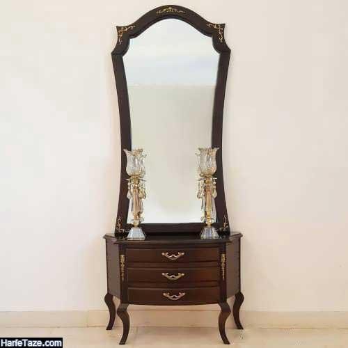 مدل آینه و شمعدان سلطنتی جدید