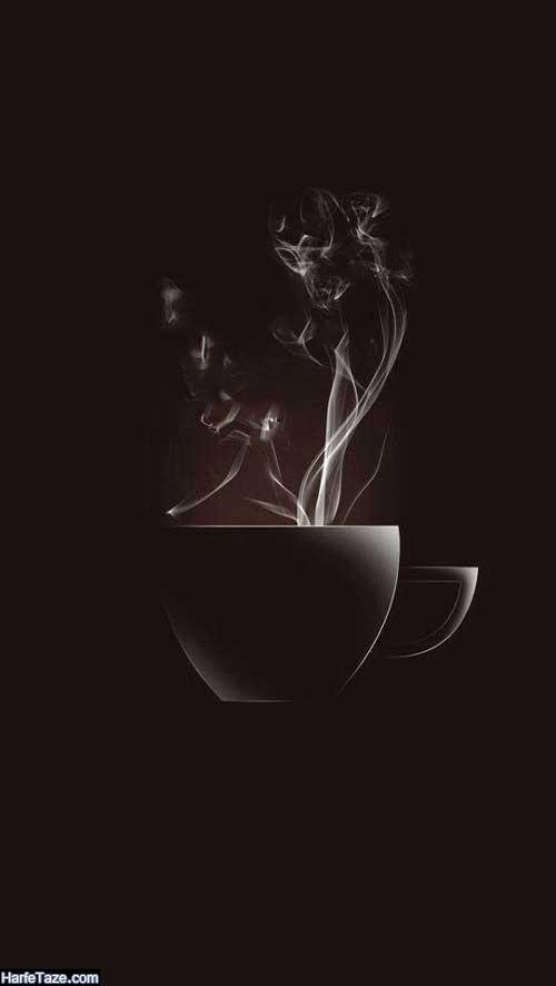 تصاویر فانتزی دانه های قهوه برای بکگراند