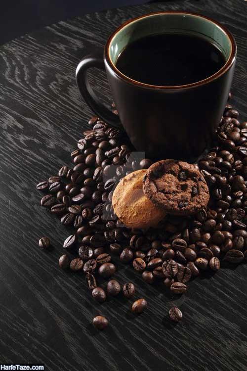 والپیپر قهوه برای تم و پس زمینه گوشی HD
