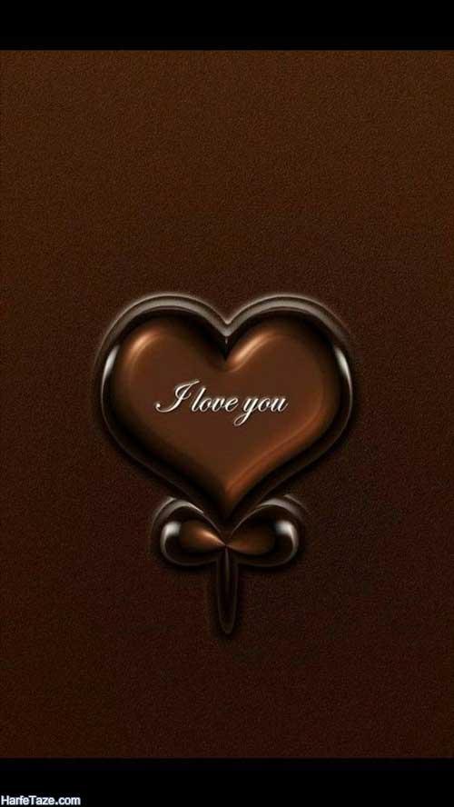 عکس فانتزی قلب با قهوه و قطره های قهوه برای بکگراند
