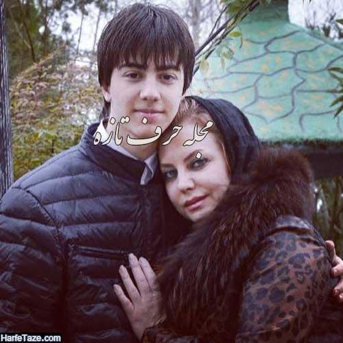 دانا و مادرش زیبا هاشم زاده
