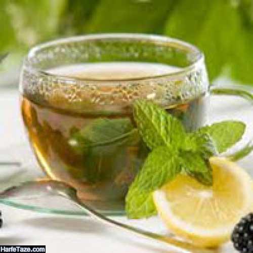 به لیمو شربت سکنجبین نوشیدنی برای گرمازدگی