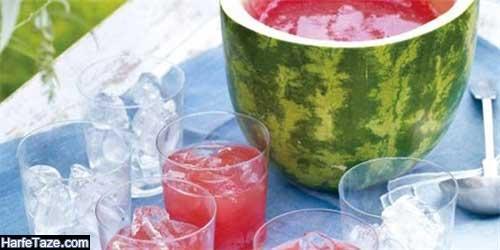 موهیتو و آب هندوانه برای رفع تشنگی