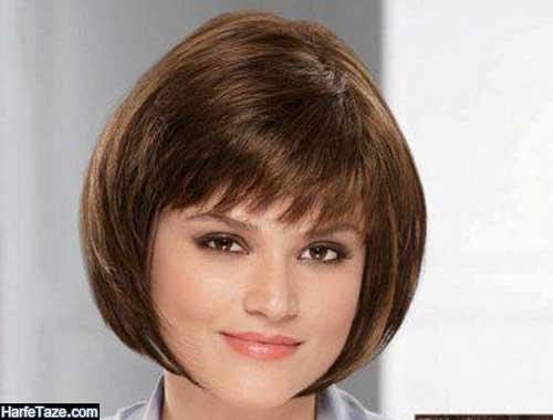 مدلهای جدید موی کوتاه دخترانه خورد و شلوغ