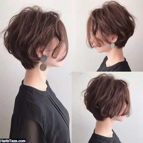 مدل کوتاهی مو زنانه برای صورت کشیده