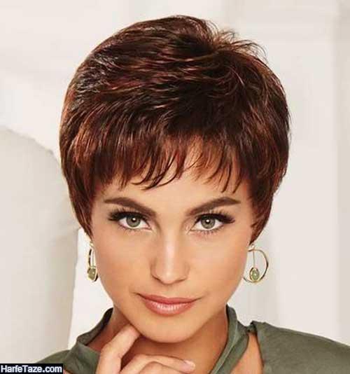 انواع جدید مدل موی کوتاه زنانه