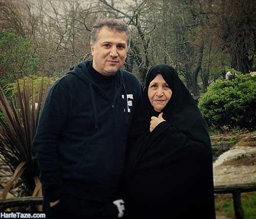 عکس مادر محمدرضا عیوضی
