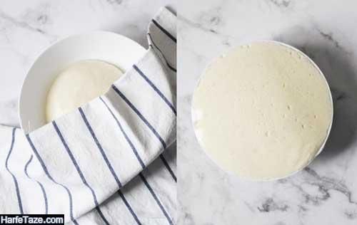 طرز خمیر پیتزا جادویی در خانه