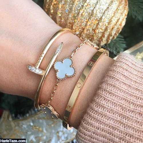 شیکترین مدل دستبند بدلی دخترانه 99 فانتری