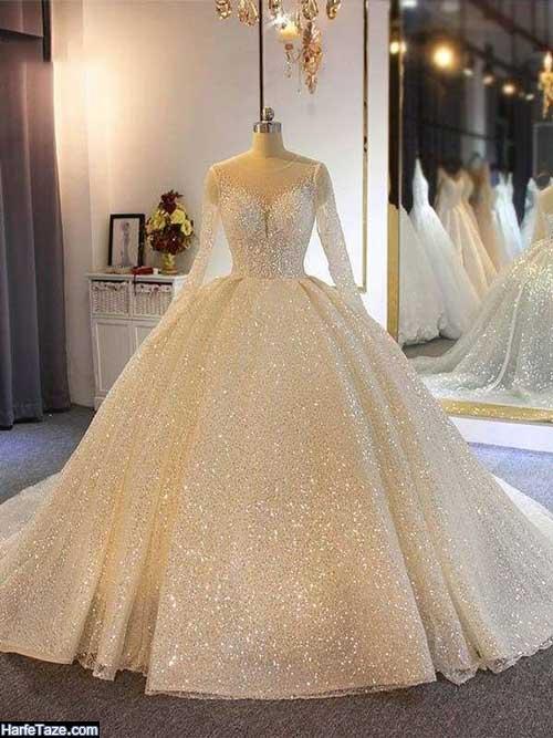 لباس عروس شنی جدید اینستاگرام