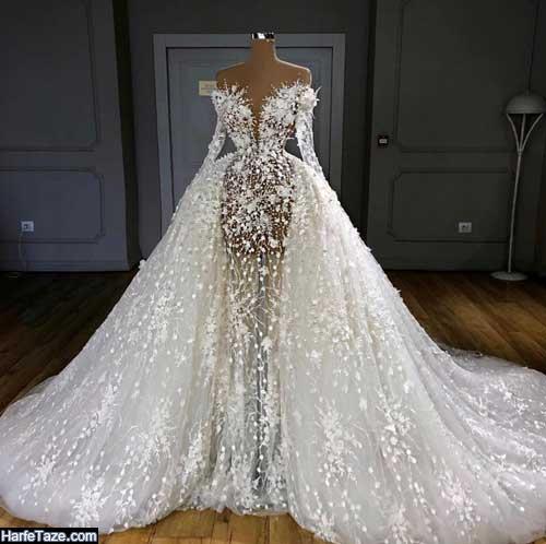 مدل لباس عروس پر زرق و برق 99 – 2020