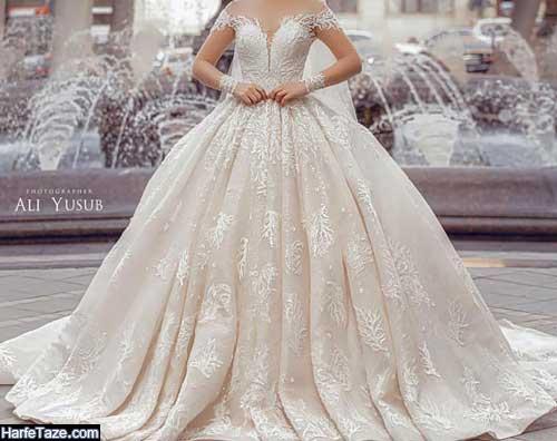 عکس هایی از مدل لباس عروس اروپایی