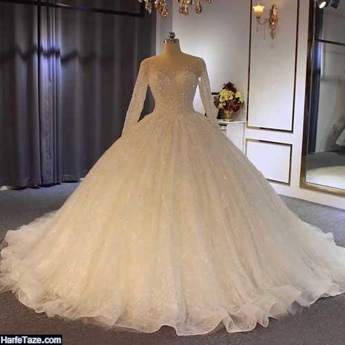 لباس عروس شاین و LED دار جدید