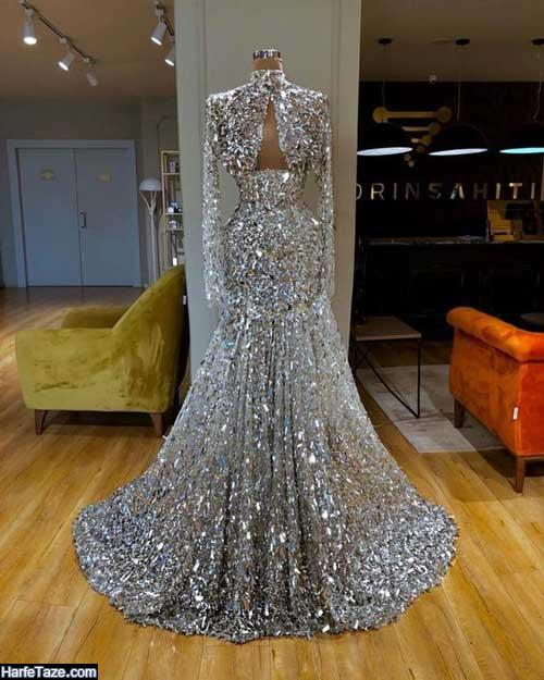 لباس عروس شاین مدل ماهی