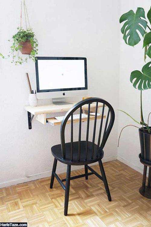 مدل خلاقانه و کاربردی میزهای رایانه برای اتاق کار