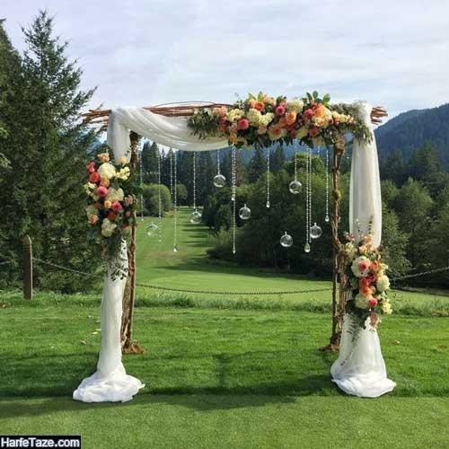 راهنمای طراحی و تزئینات عروسی در تابستان