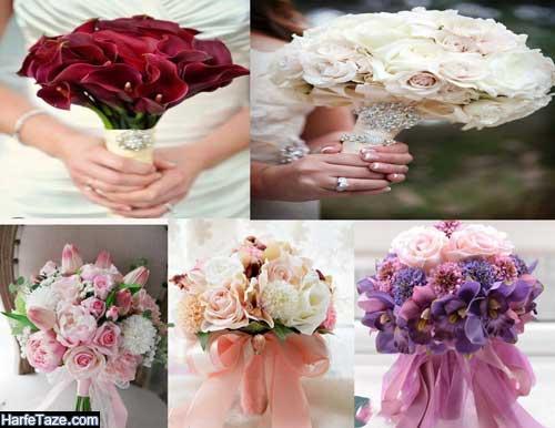 دسته گل عروس و تزئینات عروسی در تابستان