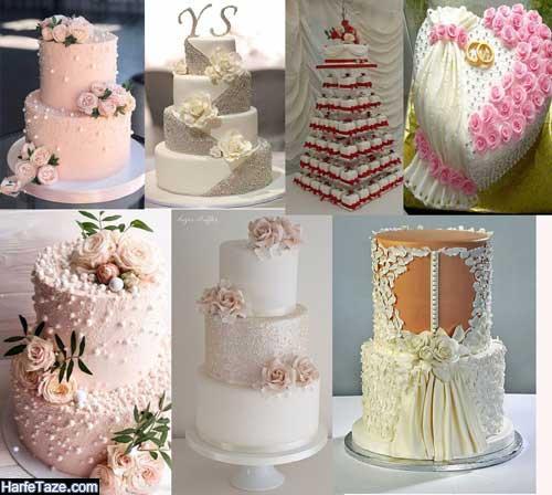مدل کیک عروسی با تم تابستانی