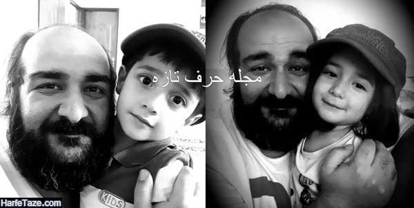عکس های جدید و خانوادگی و دوقلوهای عباس رثایی