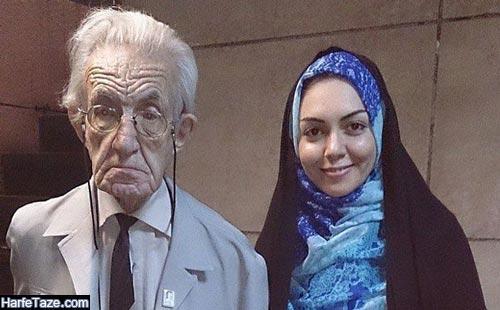 اردشیر کاظمی و همسرش