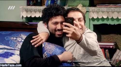 عکس جدید علی صبوری بازیگر