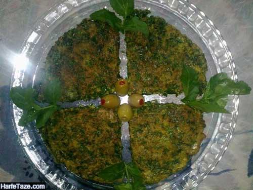 طرز پخت انواع غذاها با سبزی های محلی