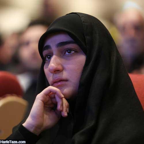 پدر همسر زینب سلیمانی کیست