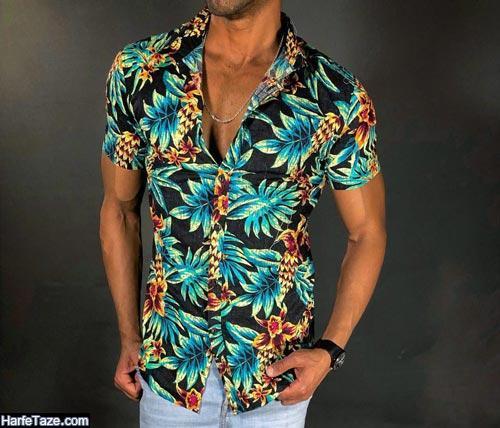 مدل پیراهن هاوایی 99