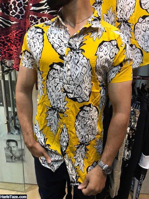 مدل پیراهن هاوایی مردانه جدید