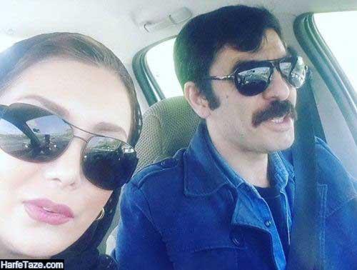 عکس های جدید رویا میرعلمی و همسرش