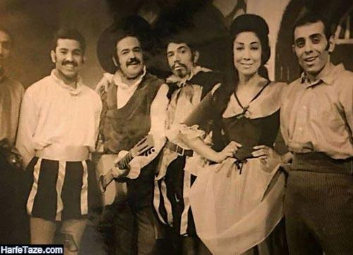 جمیله شیخی قبل از انقلاب